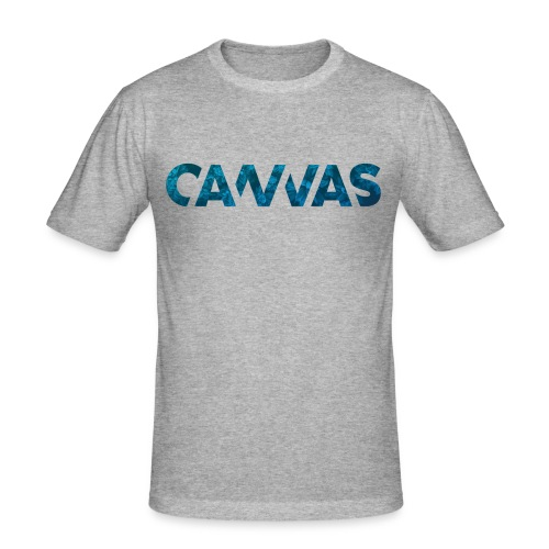 CANVAS Logo, New Years Edition, Limited Edition - Männer Slim Fit T-Shirt