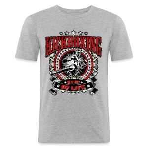 Kickboxing - My Way Of Life - Männer Slim Fit T-Shirt
