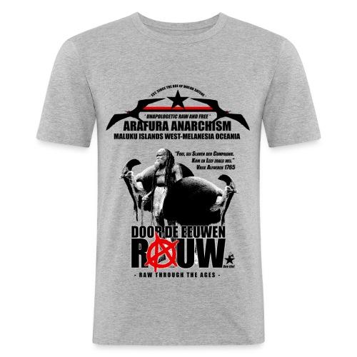 Arafura Anarchism - slim fit T-shirt