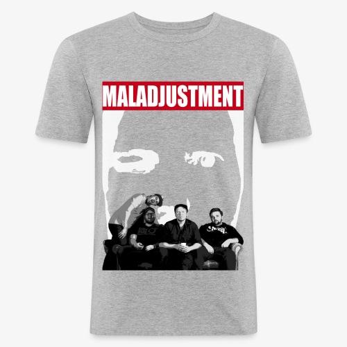 Maladjustment | Band - Männer Slim Fit T-Shirt