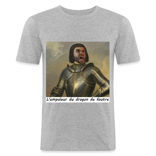 l'empaleur - T-shirt près du corps Homme