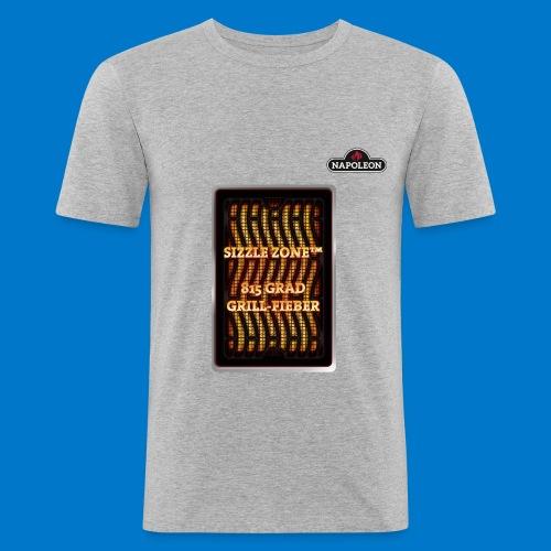 GRILL FIEBER - Männer Slim Fit T-Shirt
