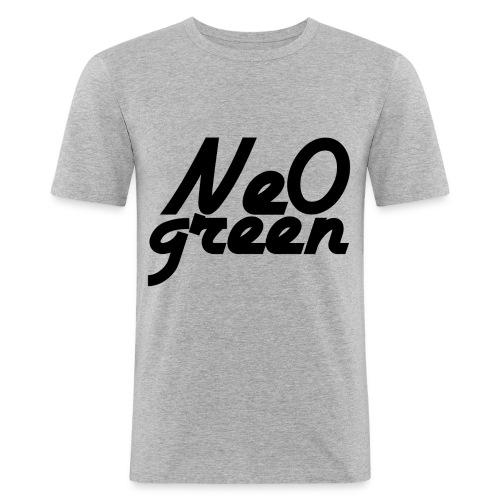 Ne0Green - T-shirt près du corps Homme
