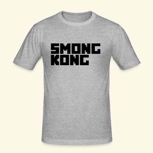 Smong kong merkevare - Slim Fit T-skjorte for menn