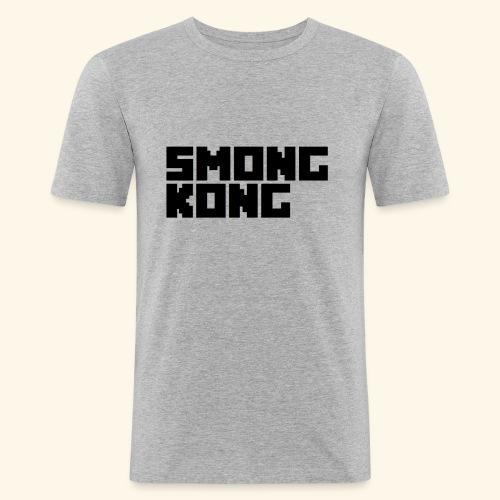 Smong kong merkevare - Slim Fit T-skjorte for menn