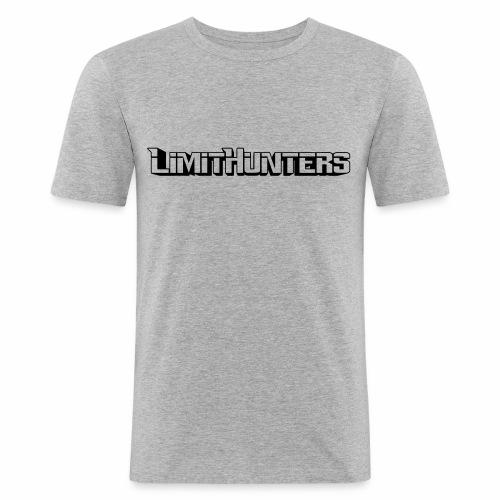 Limithunters standart 3D - Männer Slim Fit T-Shirt