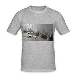 Toilets - Herre Slim Fit T-Shirt
