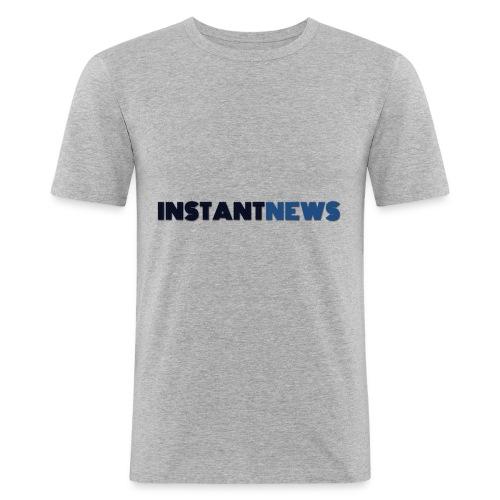 instantnews - Maglietta aderente da uomo