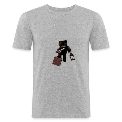 Das ist ein Skinrender von dem YouTuber Julx - Männer Slim Fit T-Shirt