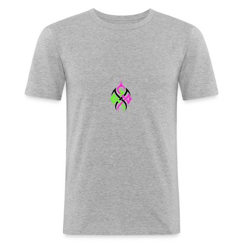 Logo ohne Hintergrund - Männer Slim Fit T-Shirt