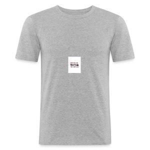 large - Slim Fit T-shirt herr