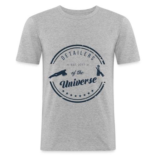 dotu druck - Männer Slim Fit T-Shirt