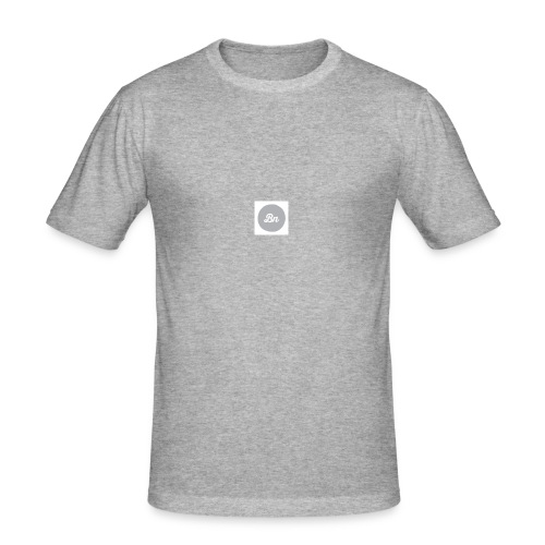 Brand&New grey collection - Slim Fit T-shirt herr