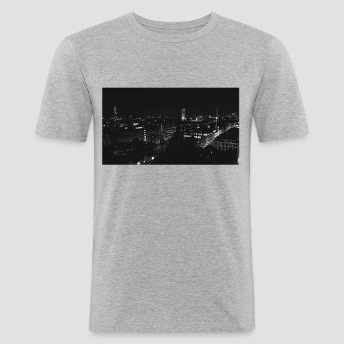 Londres night city - Camiseta ajustada hombre