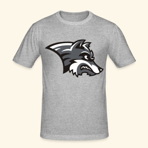 WOLFSHIRT by Noi - Männer Slim Fit T-Shirt