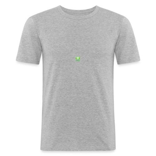 BlockIz logo - Slim Fit T-shirt herr