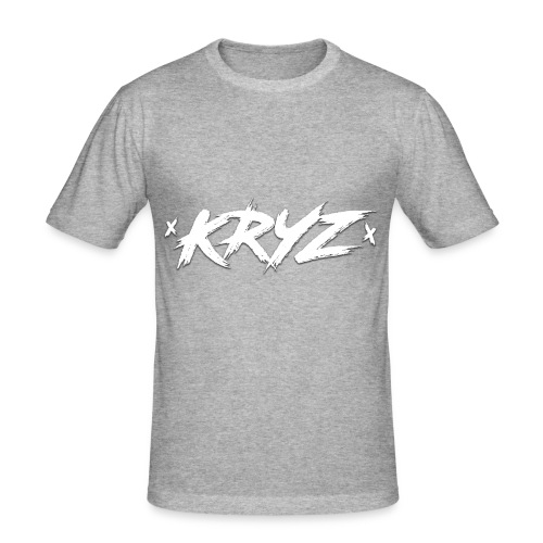 KRYZ - Männer Slim Fit T-Shirt