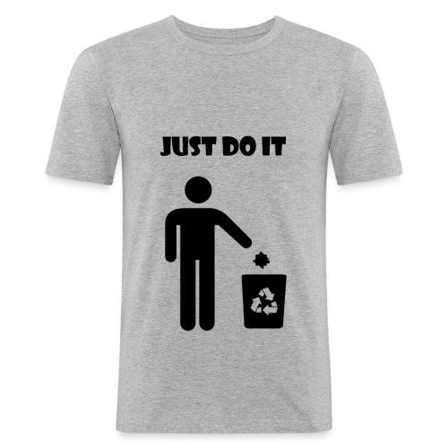 Just do it! - T-shirt près du corps Homme