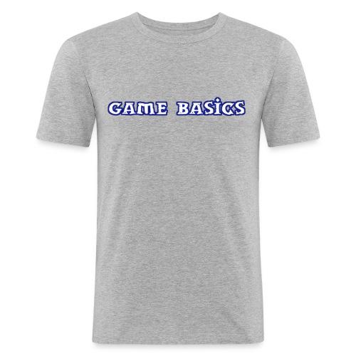 Game Basics Design - Männer Slim Fit T-Shirt