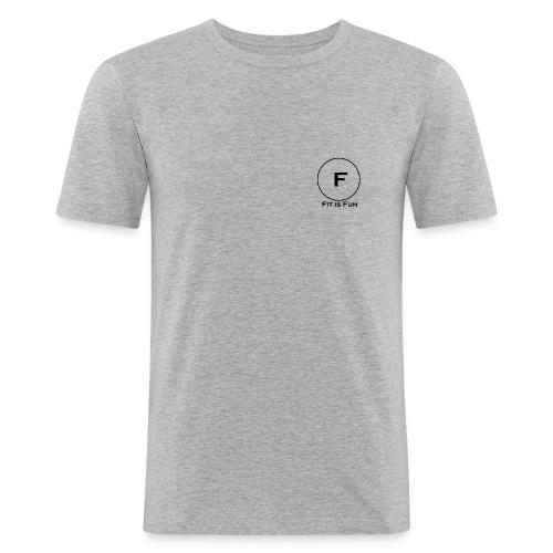 FitisFun - Männer Slim Fit T-Shirt