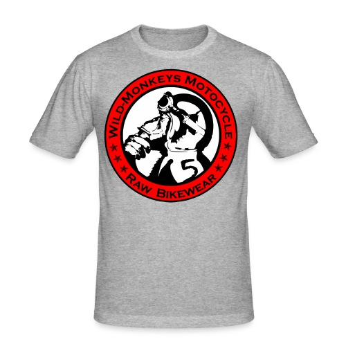 wildmoto - Männer Slim Fit T-Shirt