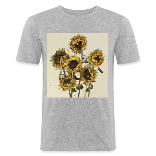 Sunflowers - Men's Slim Fit T-Shirt