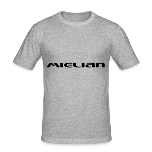 Mielian Logo - Men's Slim Fit T-Shirt