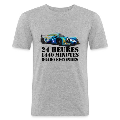 24 Heures - T-shirt près du corps Homme
