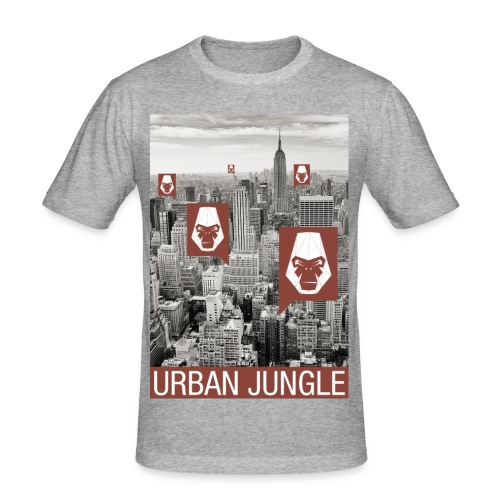 Urban Jungle UG - Men's Slim Fit T-Shirt