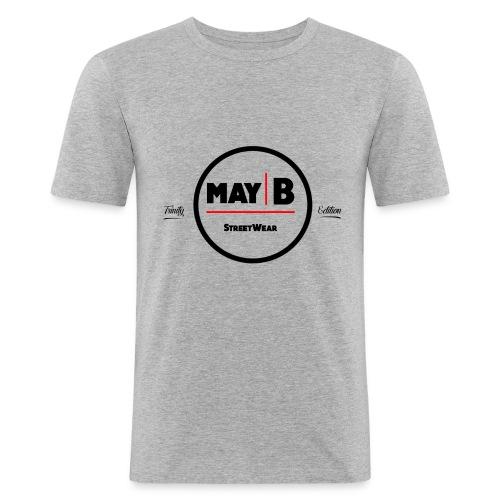 May-B logo Trinity edition - Men's Slim Fit T-Shirt