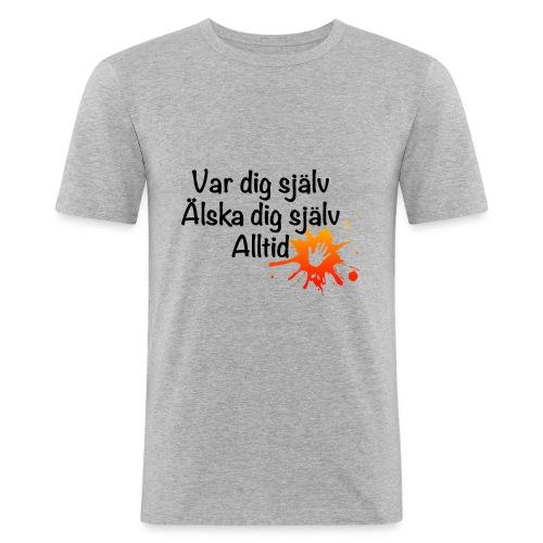 Forever Röd/orange - Slim Fit T-shirt herr