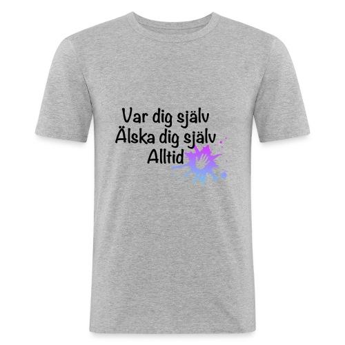 Forever Blå/lila - Slim Fit T-shirt herr
