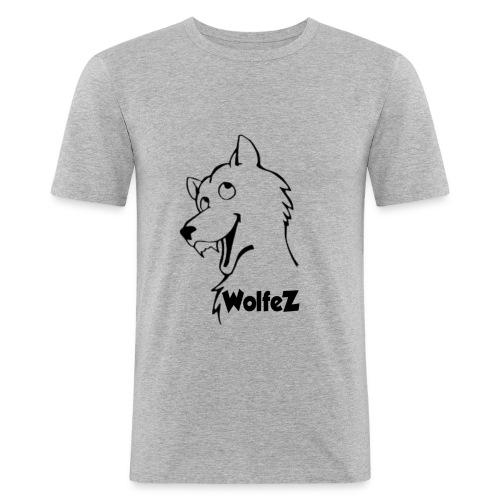 WolfeZ Klær - Slim Fit T-skjorte for menn