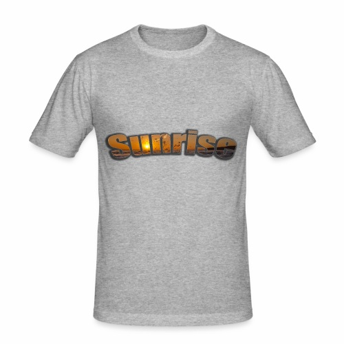 Sunrise - Men's Slim Fit T-Shirt
