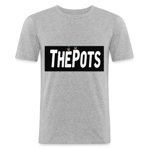 ThePots Merchendise - Slim Fit T-shirt herr