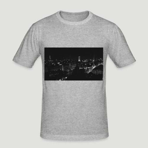 Londres night city - Camiseta ajustada hombre