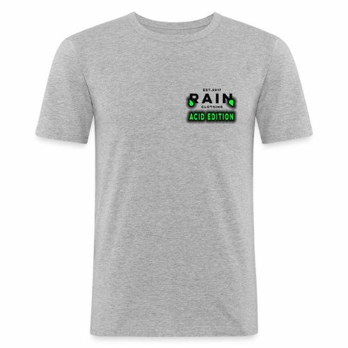 Rain Clothing - ACID EDITION - - Men's Slim Fit T-Shirt