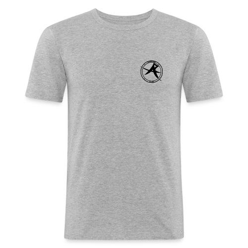 ALPHA Logo black - Männer Slim Fit T-Shirt