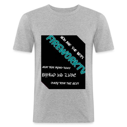 Das beste für den pyro - Männer Slim Fit T-Shirt