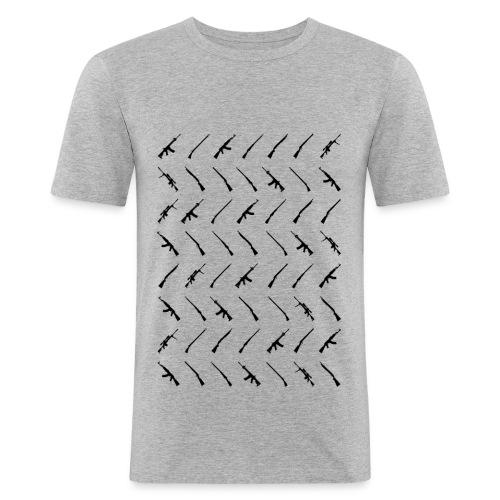 Gewehre, Musketen und Flinten - Männer Slim Fit T-Shirt