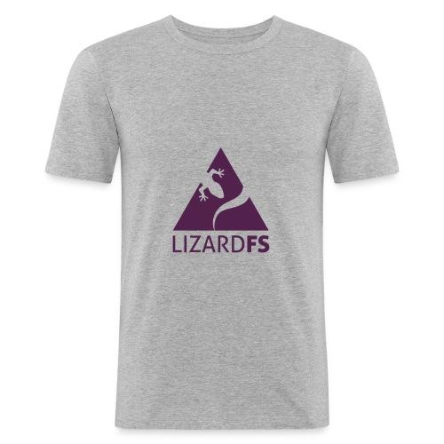logo lizardFS - Men's Slim Fit T-Shirt