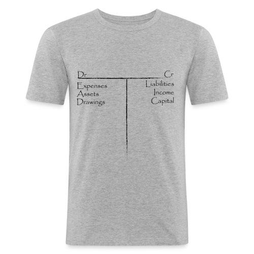 T accounts - Men's Slim Fit T-Shirt