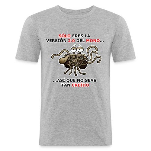 Camiseta hombre versión 2.0 del mono - Camiseta ajustada hombre