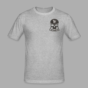 The Encounters Totenkopf - Männer Slim Fit T-Shirt