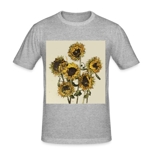 Sunflowers - Men's Slim Fit T-Shirt