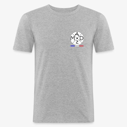 Mad ZarTax - T-shirt près du corps Homme
