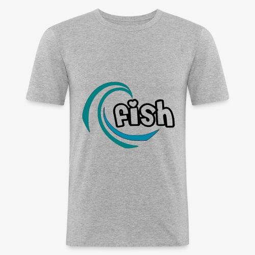 Wellen - Männer Slim Fit T-Shirt