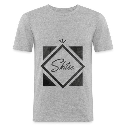T-shirt Skitse losange - T-shirt près du corps Homme