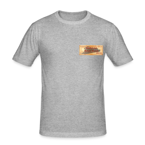 Railroad1 - Men's Slim Fit T-Shirt