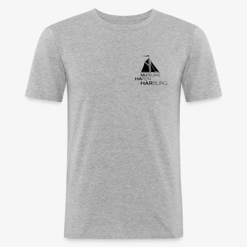 Simply MuHaHar, black - Männer Slim Fit T-Shirt